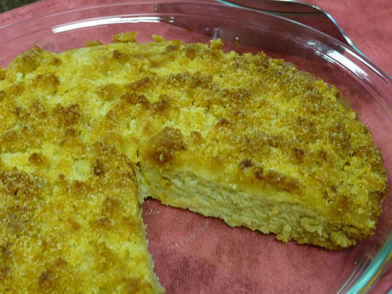 Gluten-Free Dutch Coffee Cake from <i>Celeste's Best Gluten-Free, Allergen-Free Recipes </i>| www.celestesbest.com | #glutenfree #gfree #dairyfree
