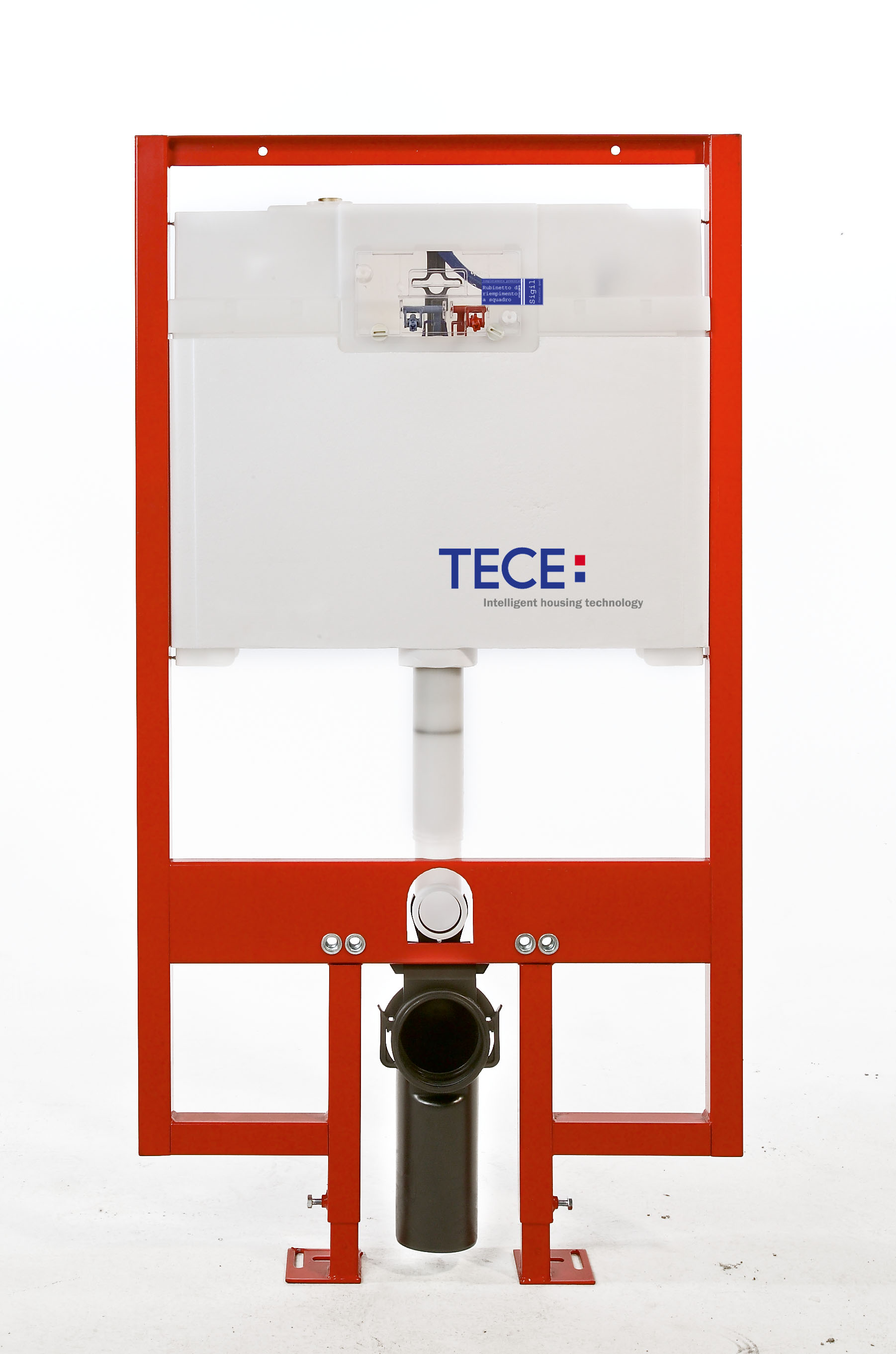 TECE - TECE 8cm Wall Hung cistern WELS 3 and 4 Star rated