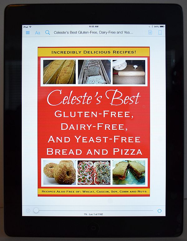 Celeste's Best Gluten-Free, Dairy-Free and Yeast-Free Bread and Pizza eBook | www.celestesbest.com | #glutenfree #dairyfree