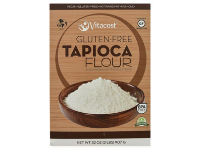Tapioca flour/starch is an additional flour in my gluten-free, yeast-free bread recipes.