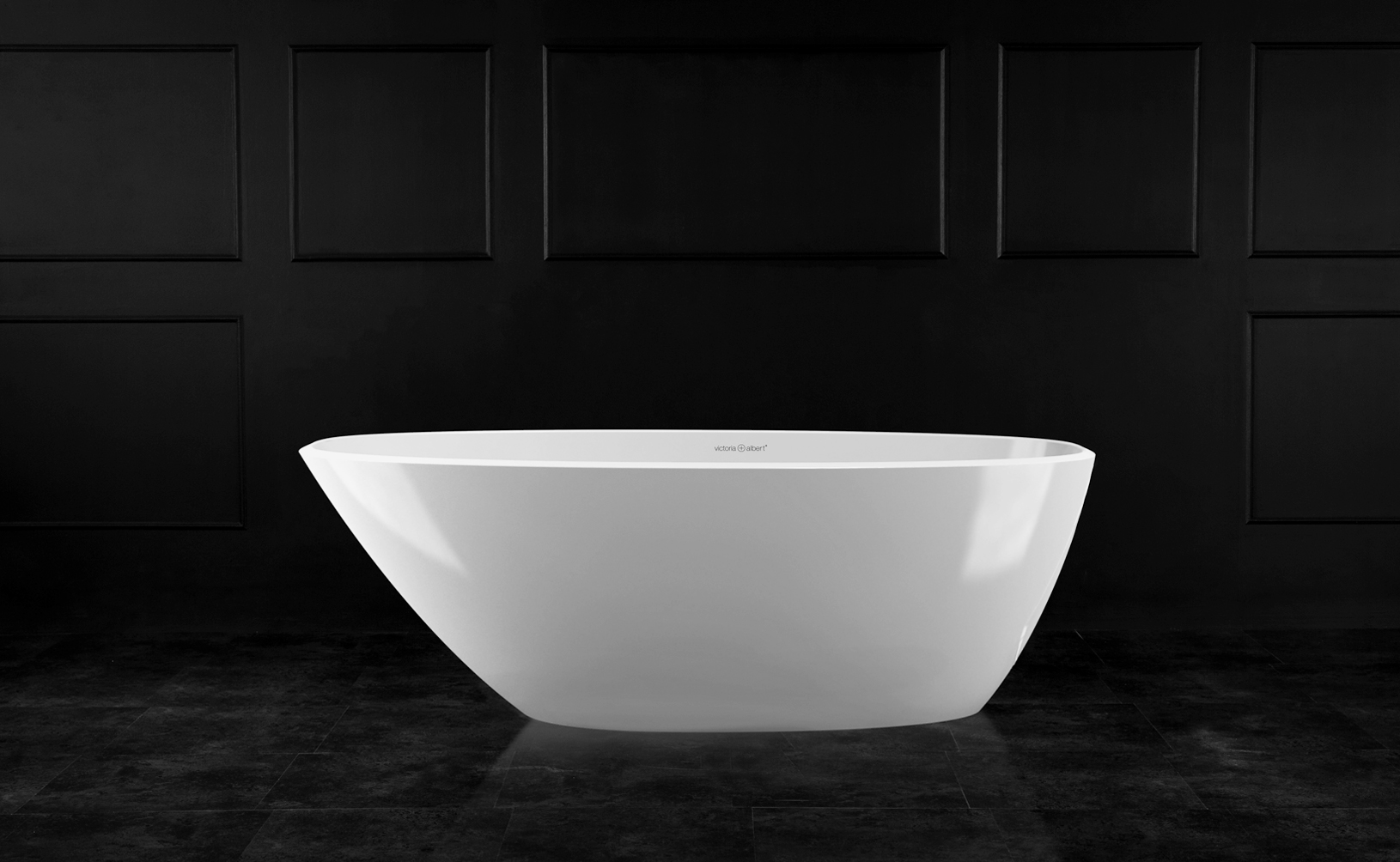 Mozzano 2 Freestanding bath 1685 x 759mm, without overflow
