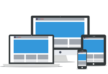 Responsive web template ready for any device.