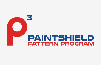 paintshield pattern program logo with p3 icon color