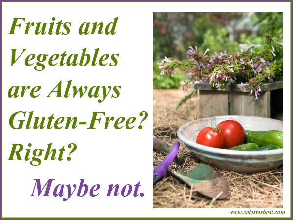 Vegetables That Contain Gluten Fruits and vegetables are always gluten free right maybe not workwithnaturefo