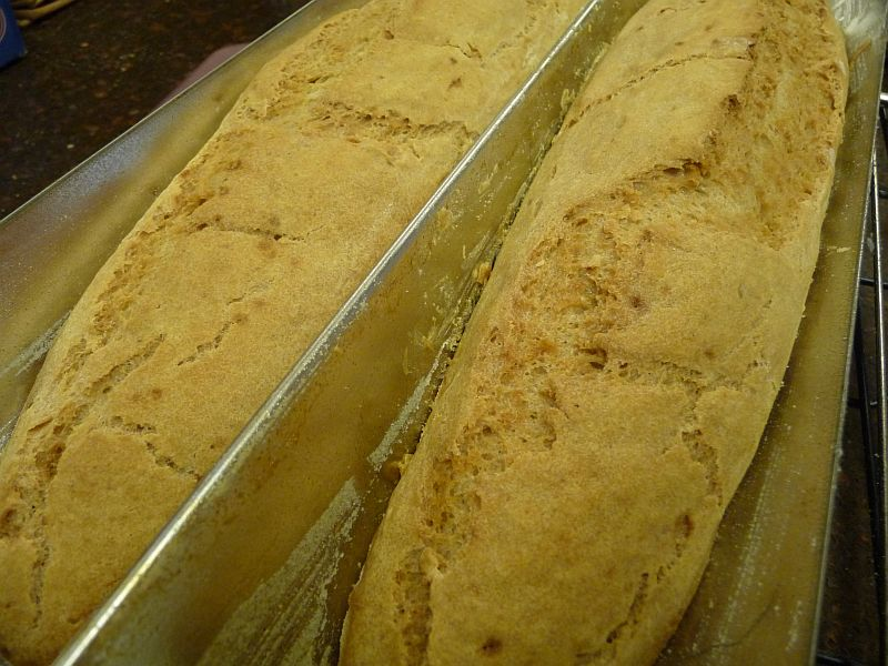 Gluten-Free, Yeast-Free French Bread from Celeste's Best Gluten-Free, Allergen-Free Recipes | www.celestesbest.com | #glutenfree #gfree #dairyfree