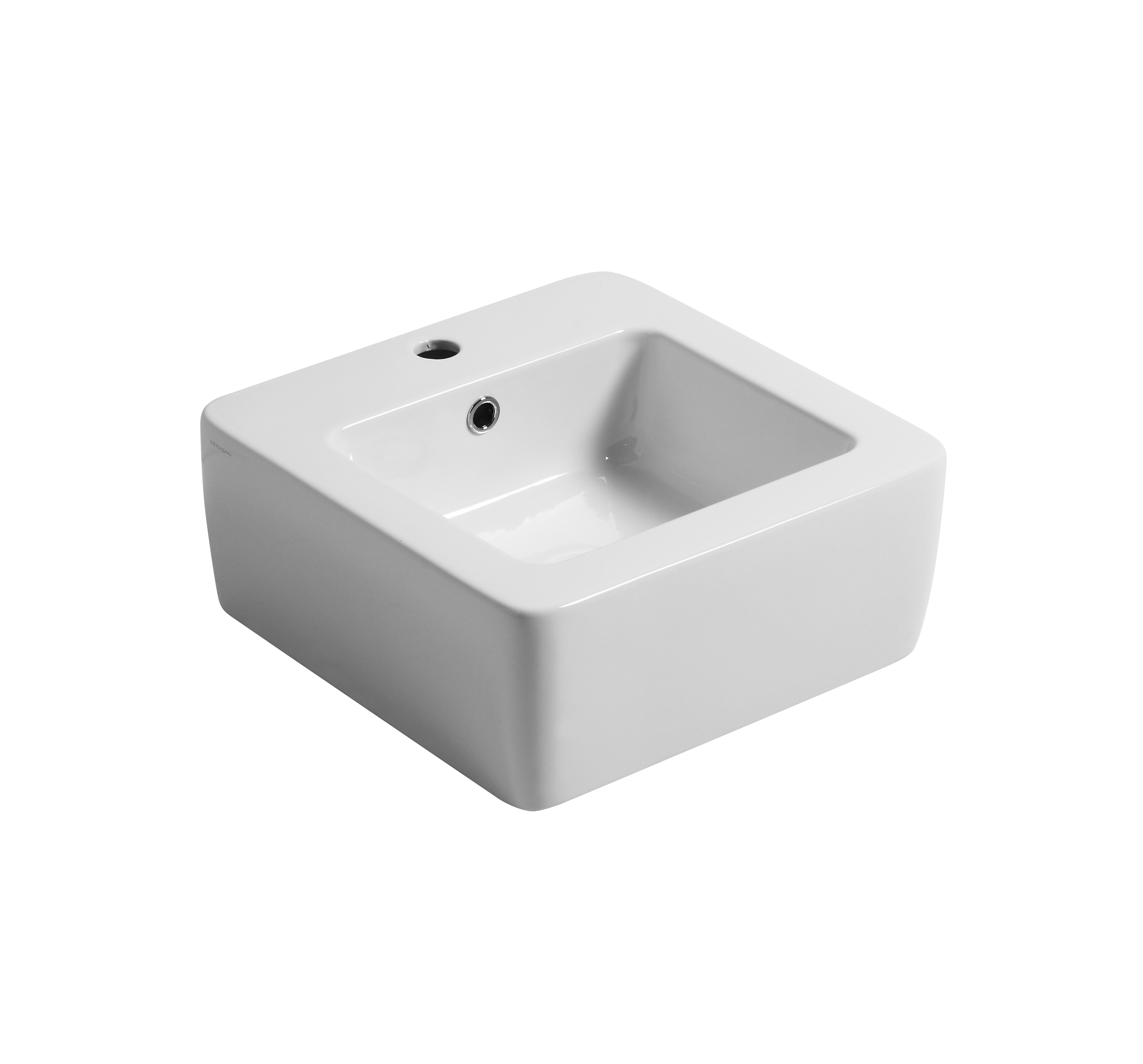 Ego 40cm wall hung or counter top basin