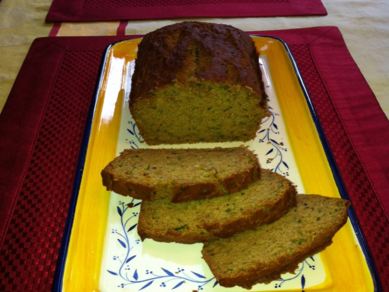 Mark and Janice's Zucchini Bread from Celeste's Best Gluten-Free, Allergen-Free Cookbook | www.celestesbest.com | #glutenfree #gfree #dairyfree
