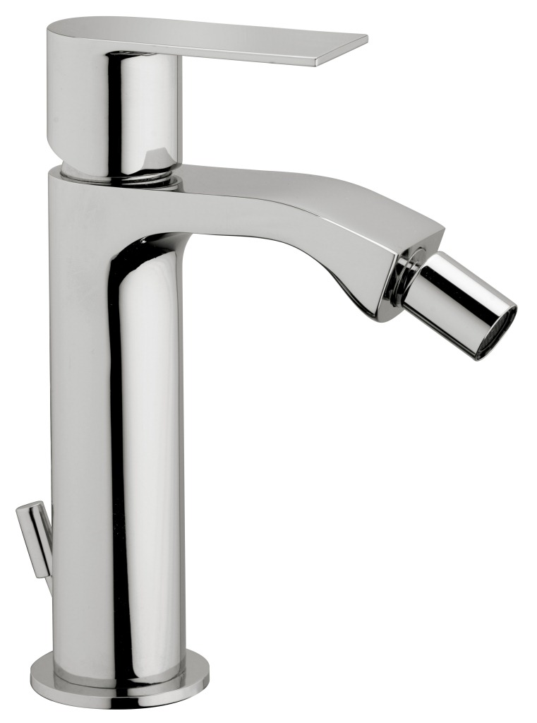 Tolomeo Bidet mixer with Pop up Waste