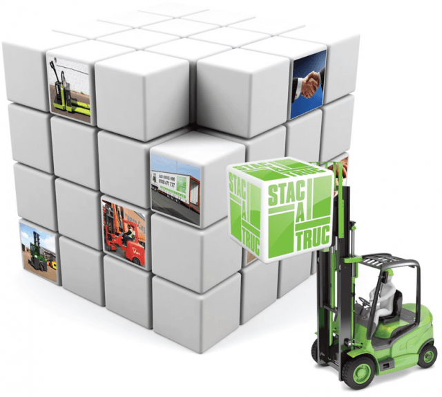 Stactruc forklift cube