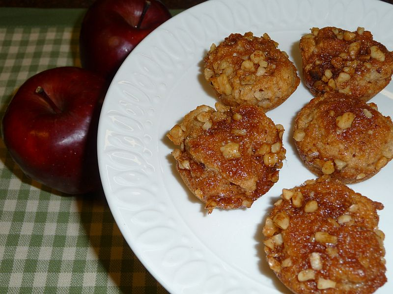 Apple Muffins from Celeste's Best Gluten-Free, Allergen-Free Recipes | www.celestesbest.com | #glutenfree #gfree #dairyfree