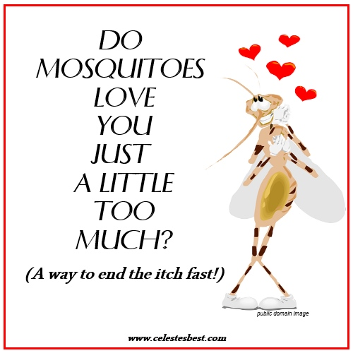 allergic reaction to mosquito bites - the secret to stopping the itch, Skeleton