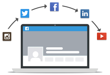 Our social media set up service will help you build your online presence.
