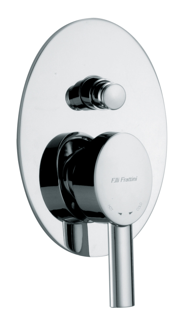 Brera Bath shower diverter mixer