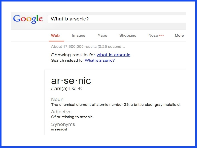 What is arsenic-free rice?