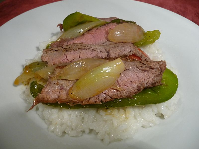 Gluten-Free Pepper Steak from Celeste's Best Gluten-Free, Allergen-Free Recipes | www.celestesbest.com | #glutenfree #gfree #dairyfree