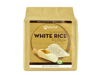 <p>Rice Flour is the foundation of Celeste's Best Gluten-Free Flour Mix.                        </p>