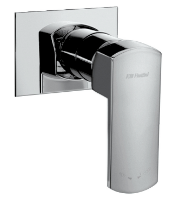 Modus Shower mixer with small plate