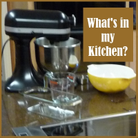 What's in my gluten-free kitchen?