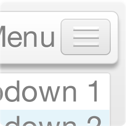 Responsive Dropdown Menu