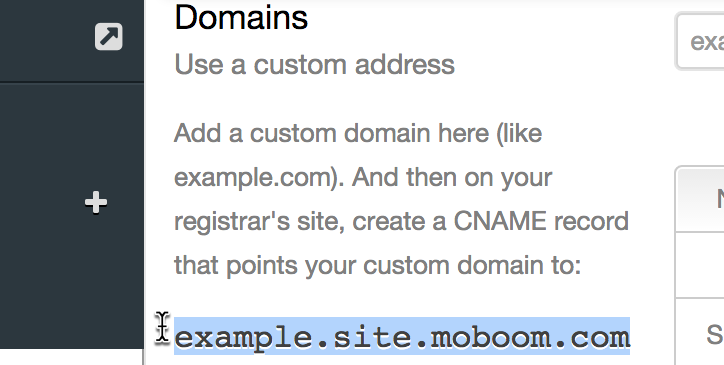 Your basic domain