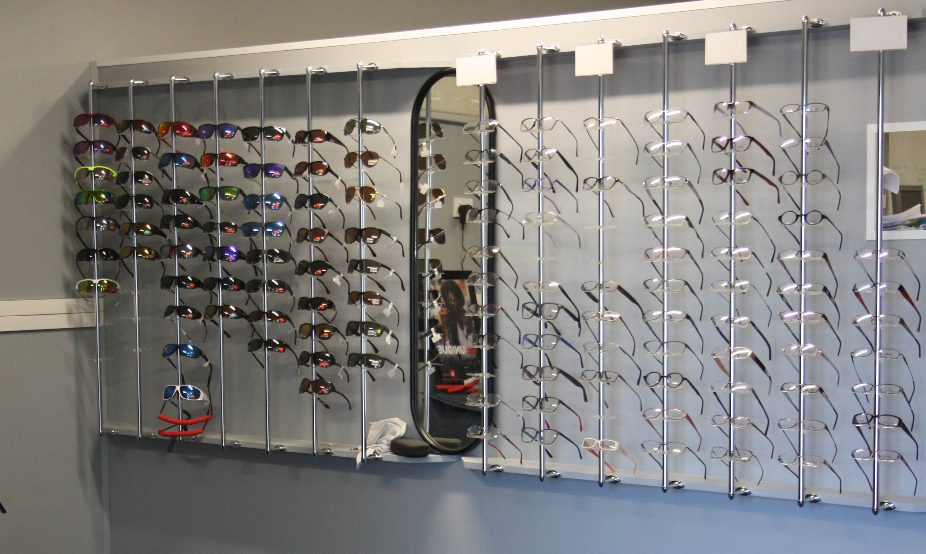 LOVE YOUR EXISTING FRAMES? <p>We can fit your new lenses to your existing frames too!</p><p>Just bring in your new prescription from your Optometrist!</p>