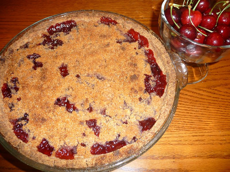 Gluten-Free Cherry Pie from <i>Celeste's Best Gluten-Free, Allergen-Free Recipes</i> | www.celestesbest.com | #glutenfree #gfree #dairyfree