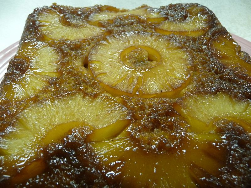 Baking Mix Pineapple Upside Down Cake from Celeste's Best Gluten-Free, Allergen-Free Recipes | www.celestesbest.com | #glutenfree #gfree #dairyfree