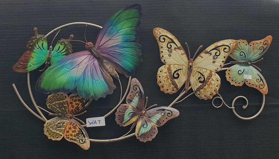 Butterfly Swirl Wall Art