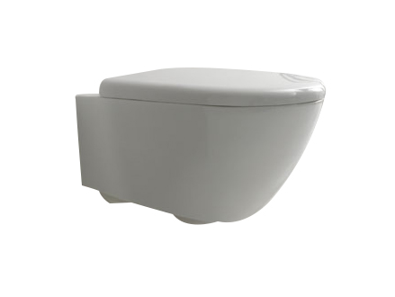 Aquatech Wall Hung Suite with  TECE 8cm cistern and TECEnow 9.240.401 button
