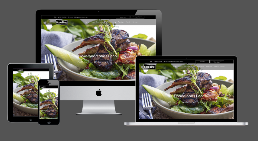 Bada Bing Restaurant in Woodlands new website