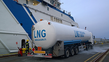 GLX LNG platform receives first firm bid in Europe