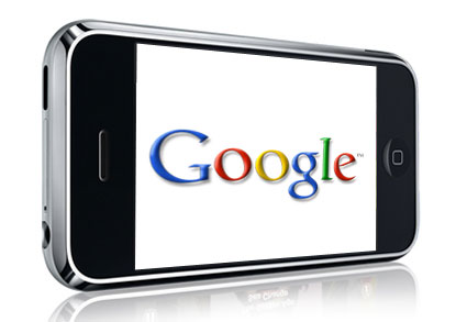 Phone with Google logo - Consistent citations are good for Google rankings