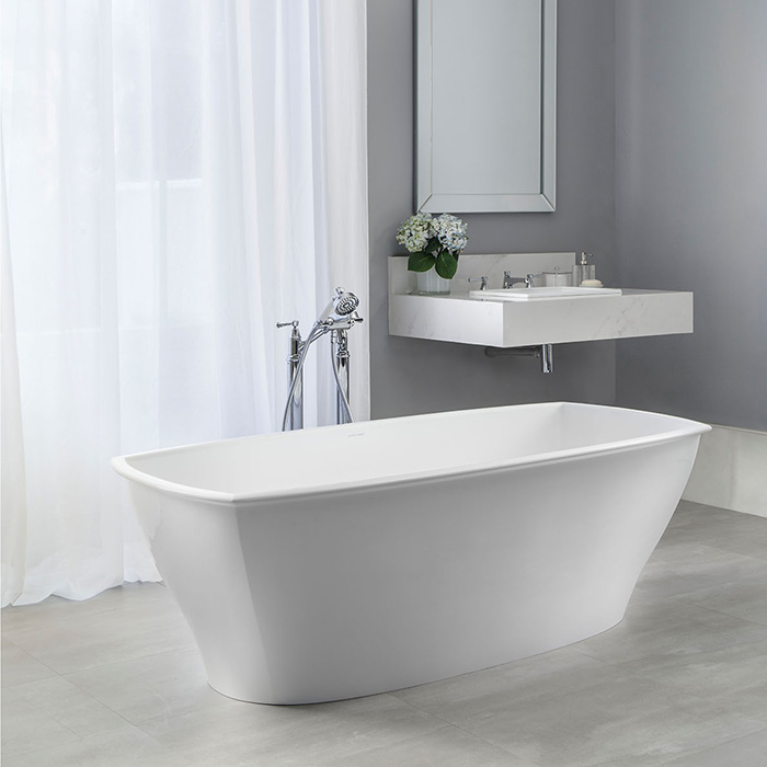 Pembroke Freestanding bath 1765 x 798mm, without overflow