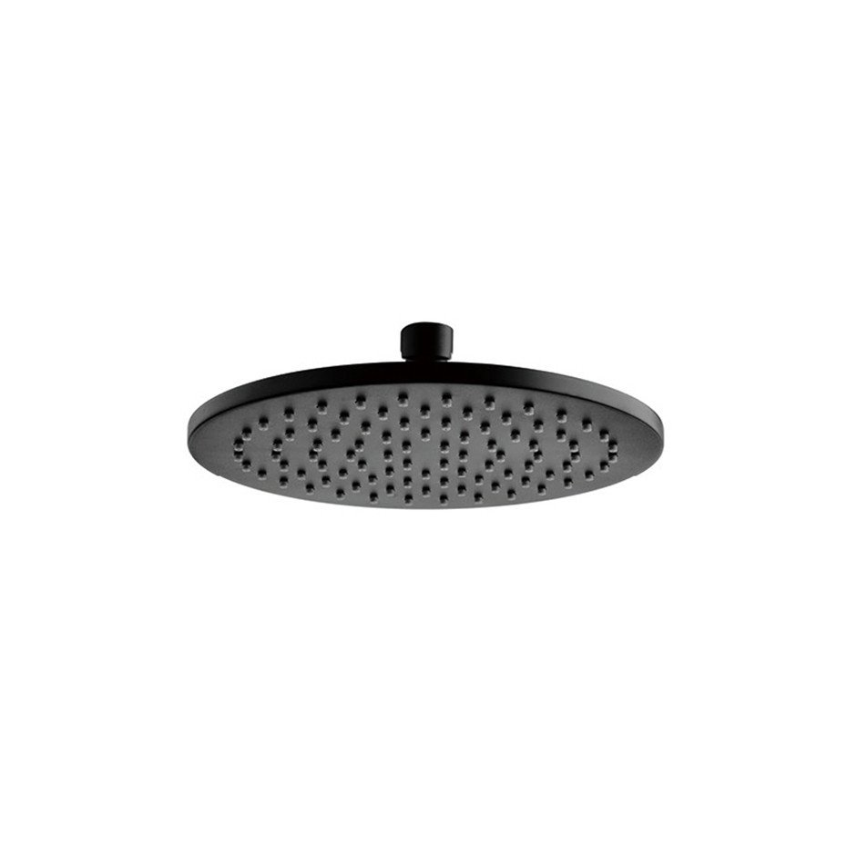 200mm Rain Shower - Matte Black