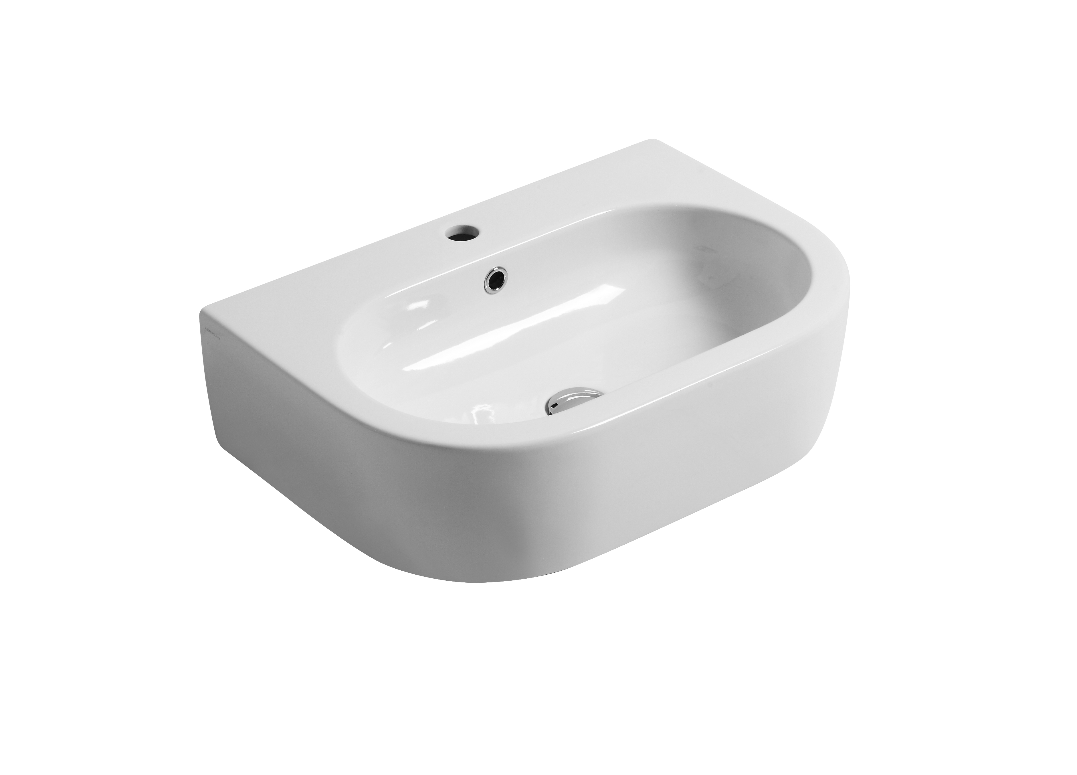 Flo 60cm Wall hung or Counter top basin
