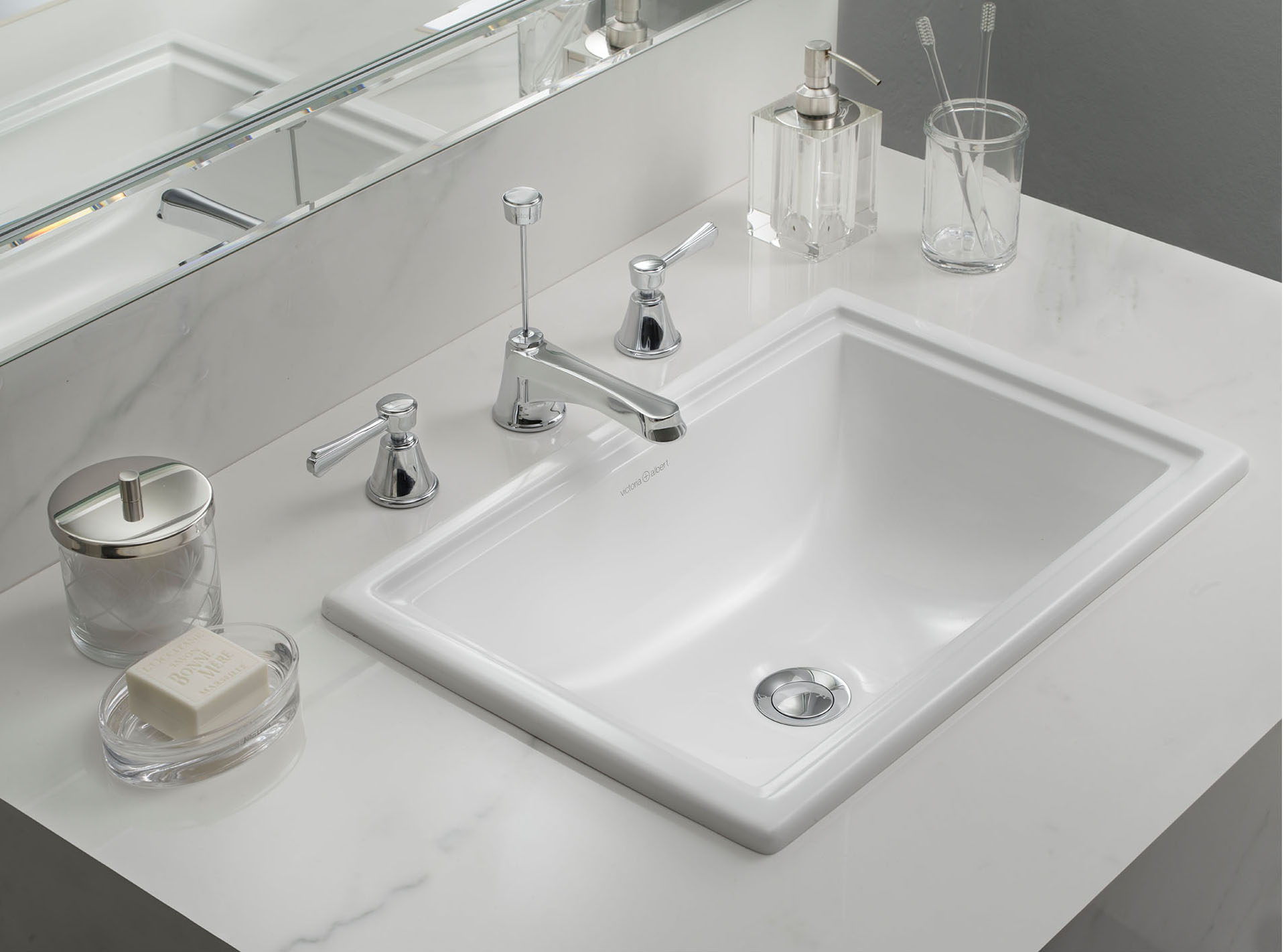 Pembroke 52 basin drop in or under counter
