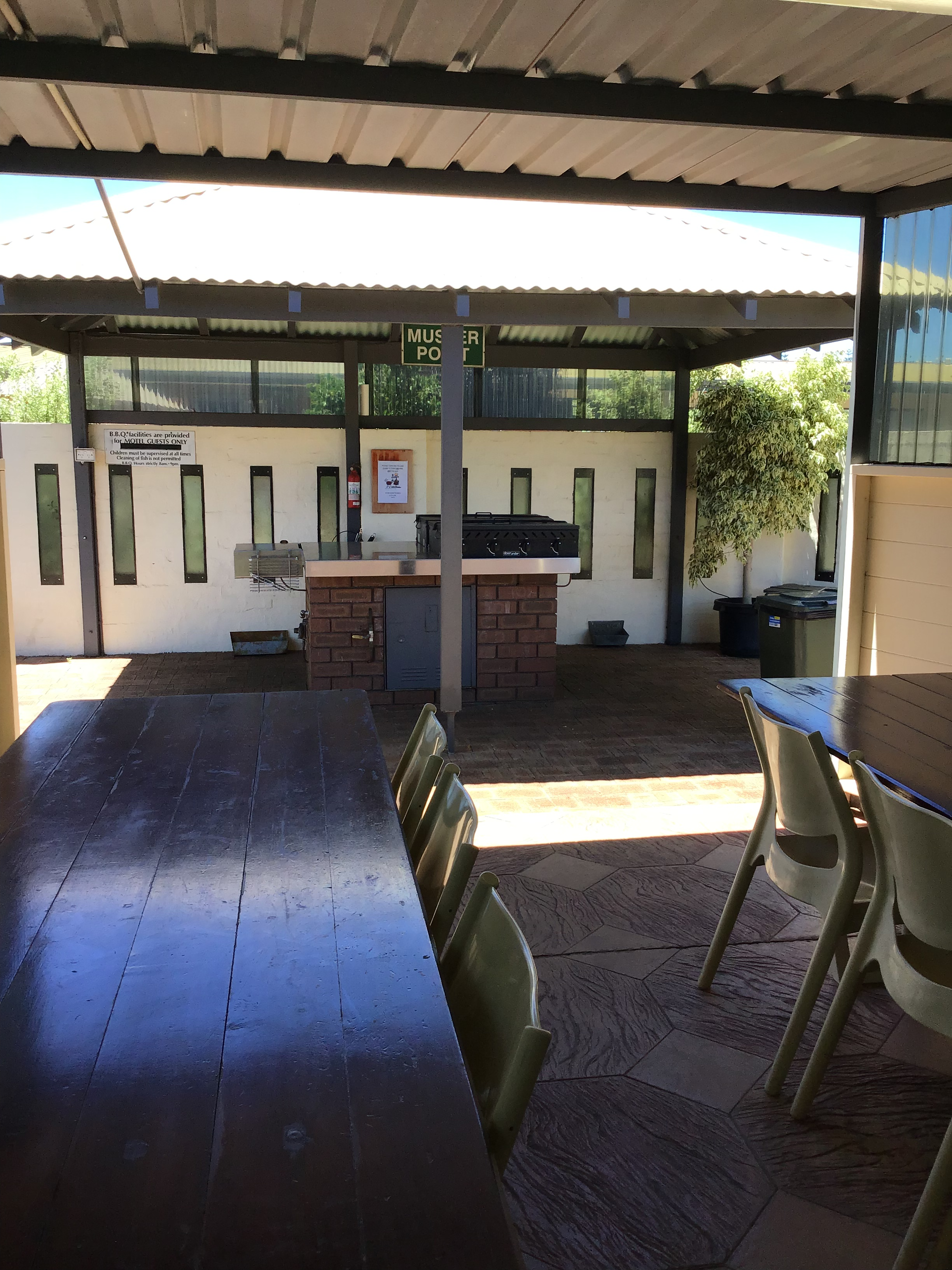 Bayview Motel Esperance Outdoor Dining Facilities