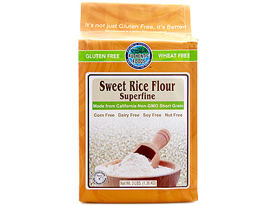 One of the two flours in Celeste's Best Gluten-Free Flour mix used throughout the cookbook.