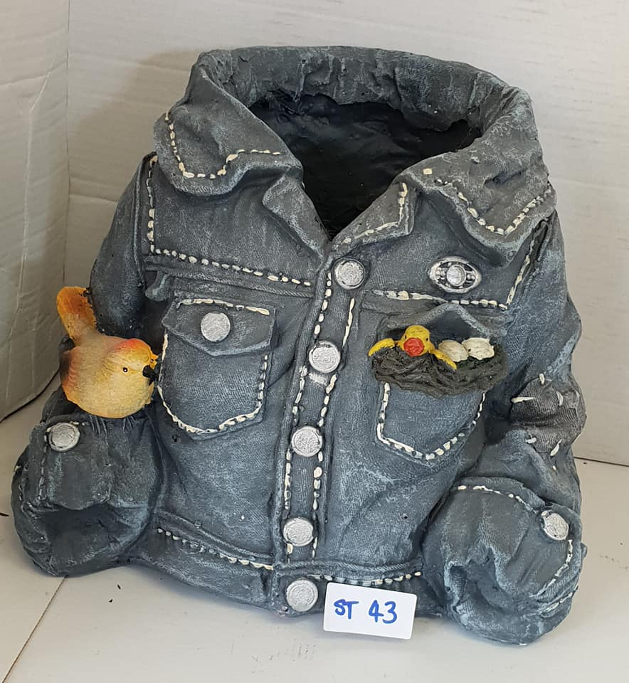 Denim Jacket Planter