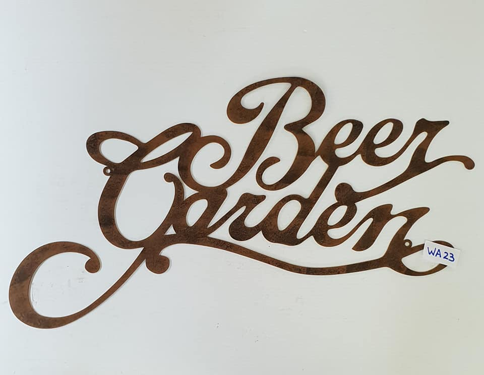 Beer Garden Wall Art