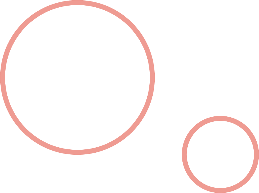 2 pink circles 180 Degree Marketing Canberra