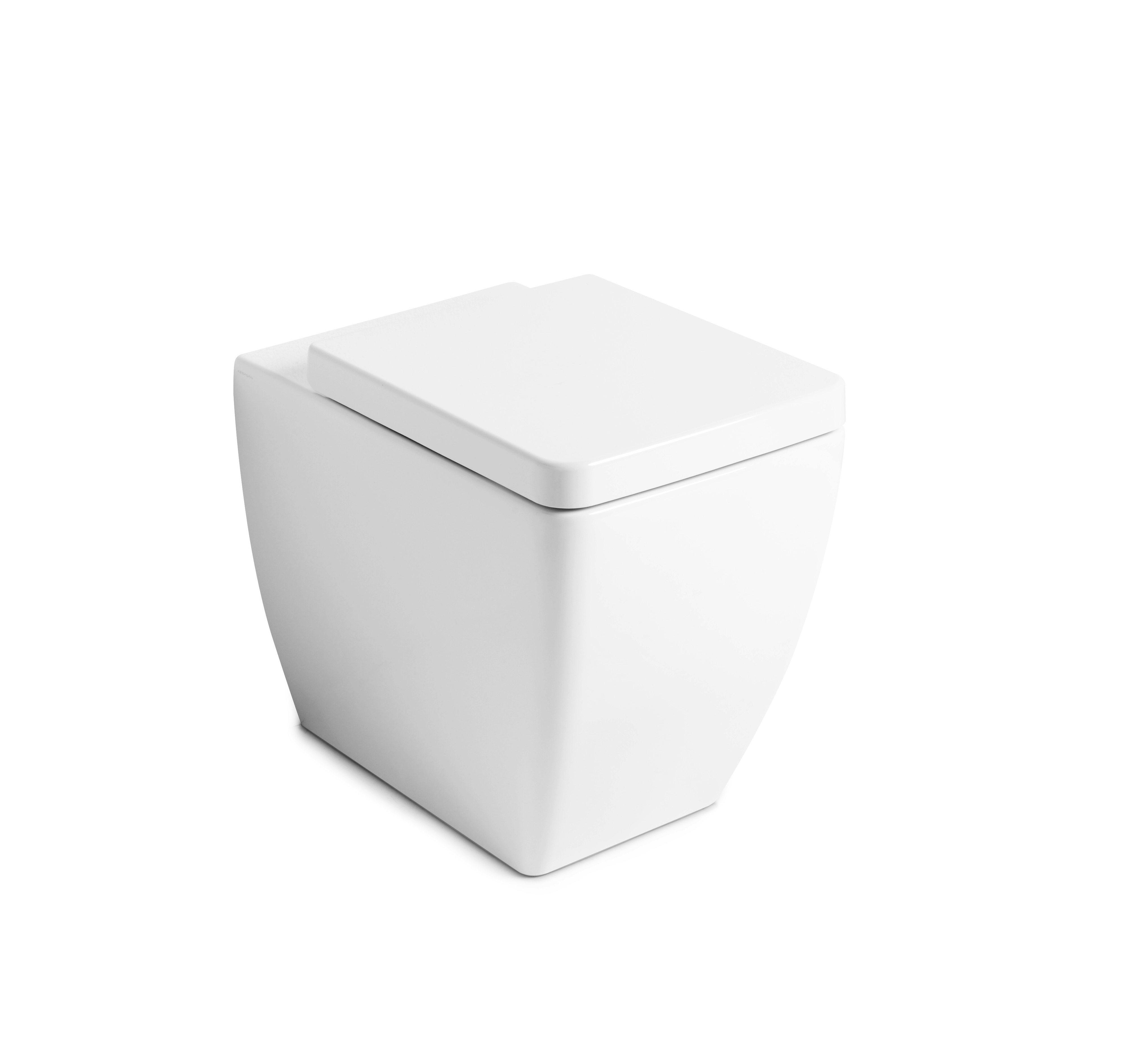 Ego Pedestal Suite with  TECE 8cm cistern and TECEnow 9.240.401 button