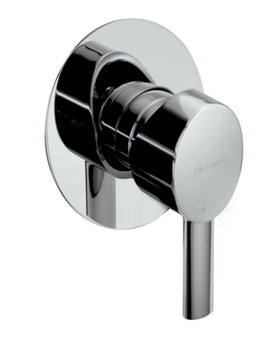 Brera Shower mixer with small plate