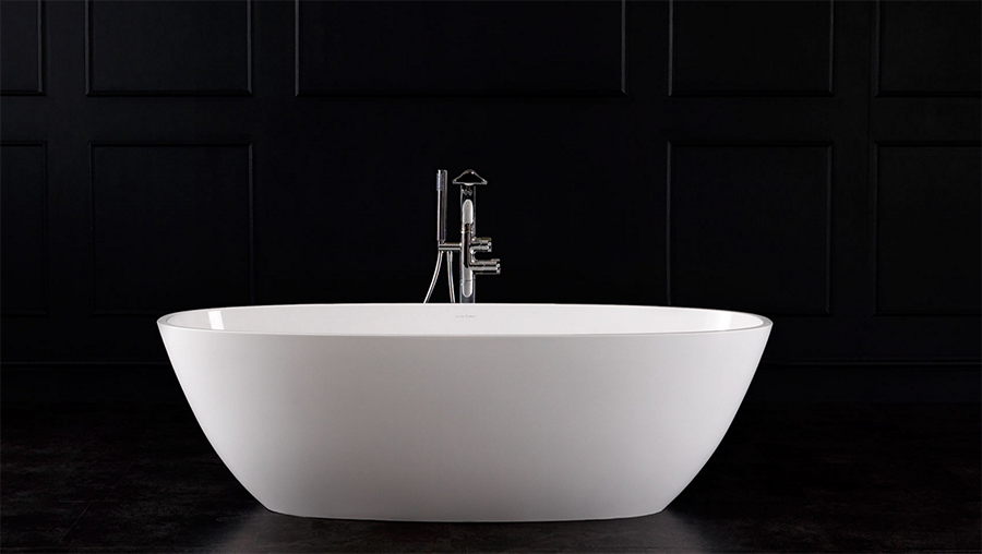 Terrassa Freestanding bath 1702 x 793mm, without overflow