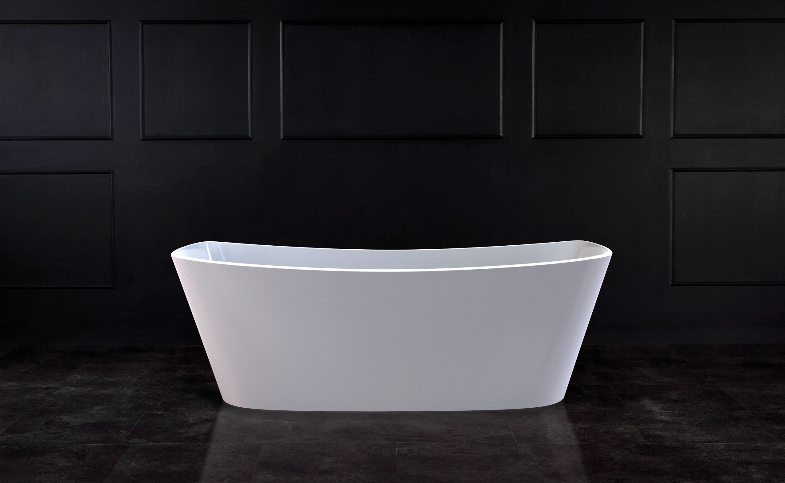 Trivento Freestanding bath 1649 x 699mm, without overflow