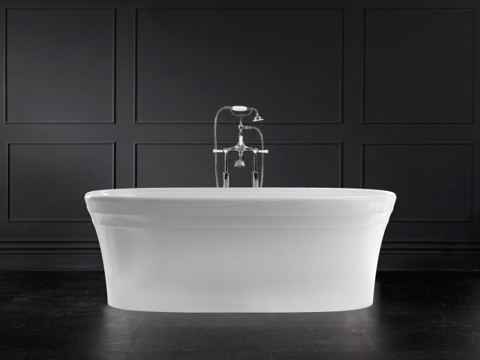 Warndon Freestanding bath 1702 x 801mm, without overflow