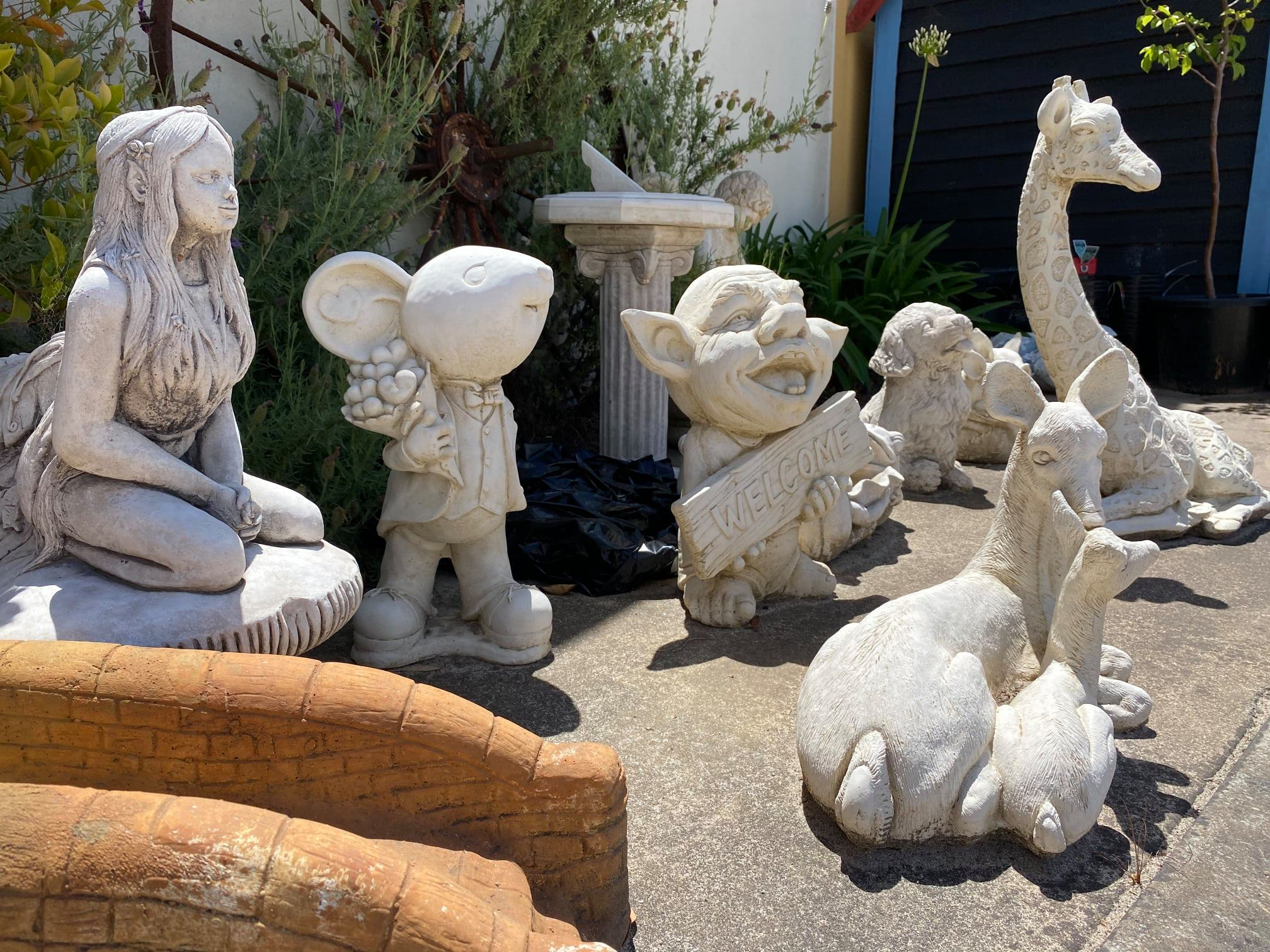 Assorted Statues
