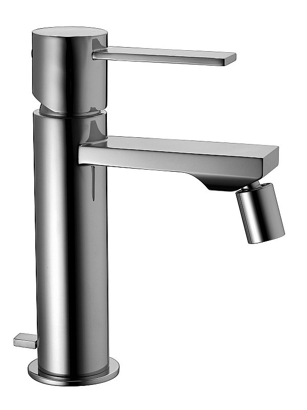 Gaia Bidet mixer with Pop Up Waste