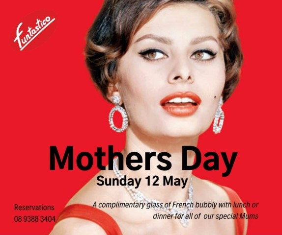 Mothers day lunch and dinner in Subiaco