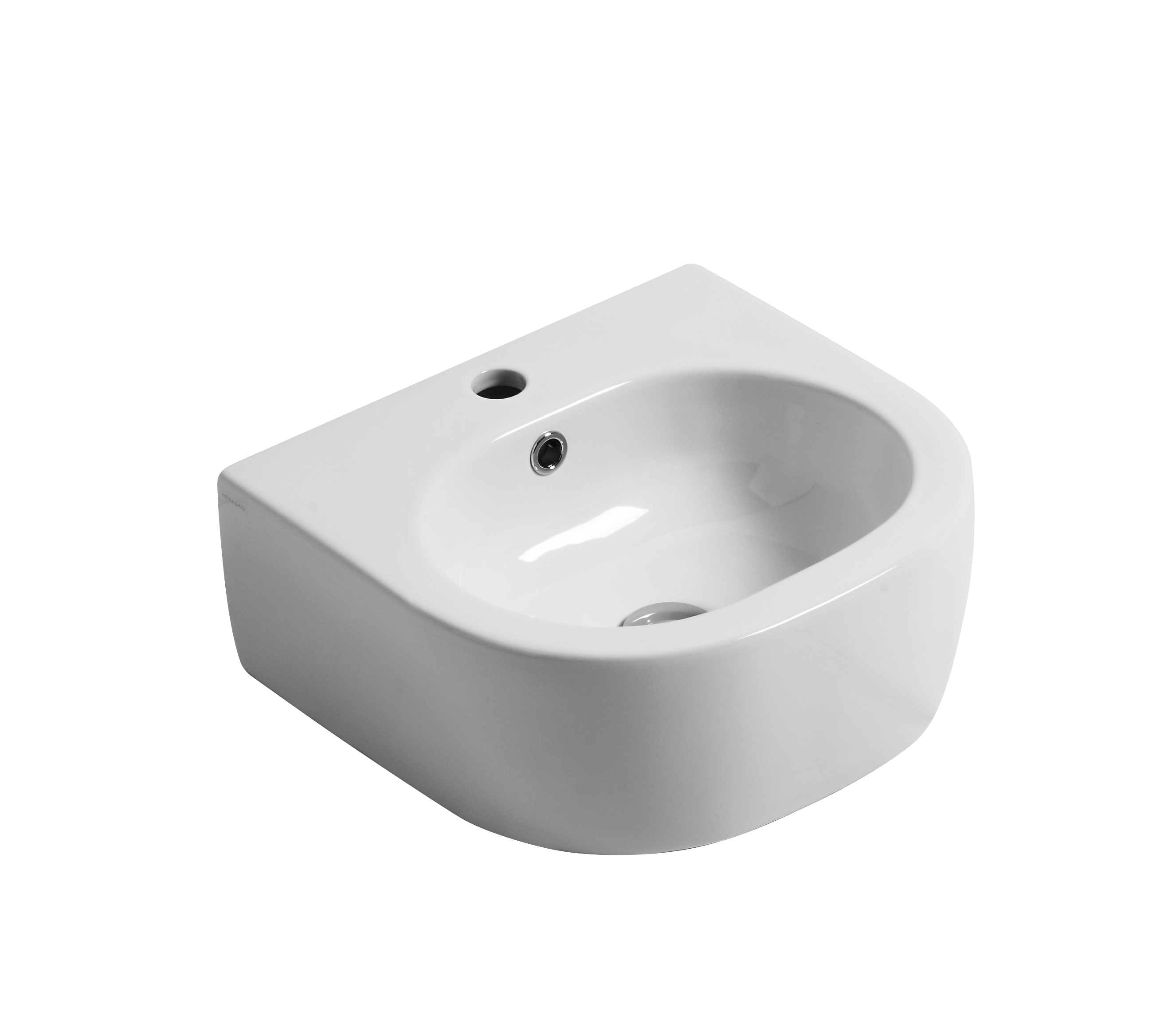 Flo 40cm Wall hung or counter top basin
